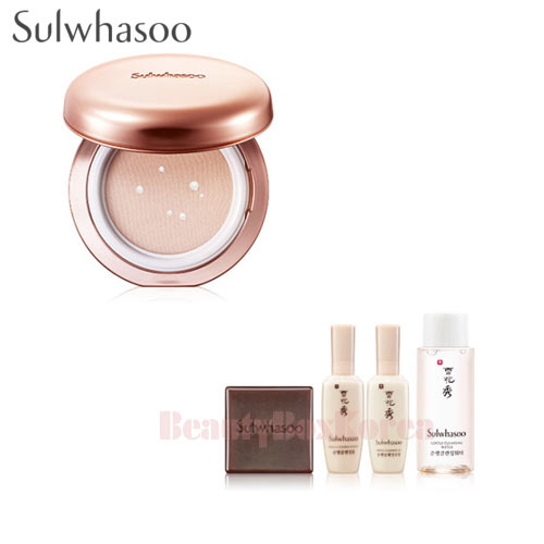 SULWHASOO Sheer Lasting Gel Cushion Set [Monthly Limited -July 2018]